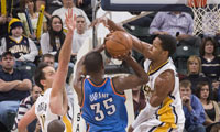 Pacers Beat Thunder Without Much Lightning